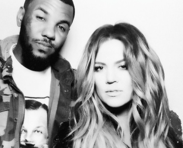 Khloe Kardashian shares picture of herself with rumoured boyfriend The Game, 22 February 2014