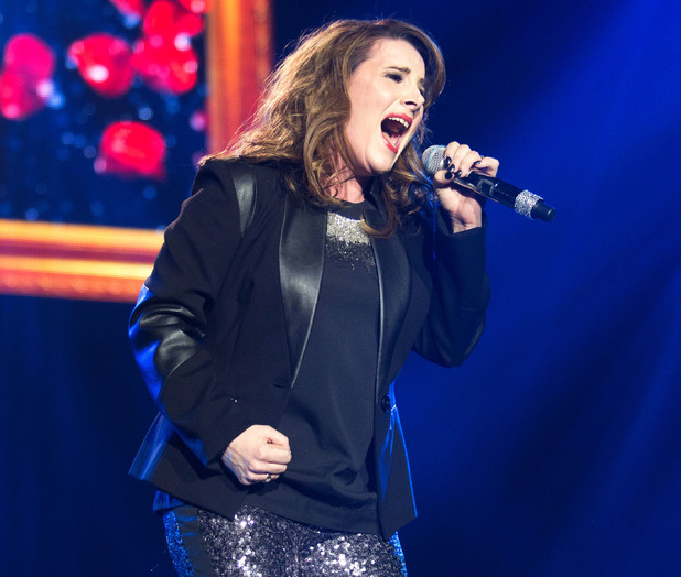 Sam Bailey - The X Factor Live Tour first night at the Odyssey Arena Belfast 02/15/2014 - Belfast, United Kingdom