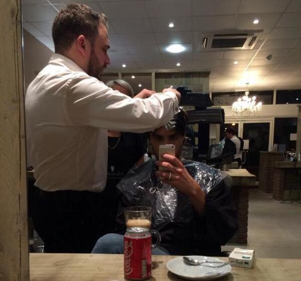 Rylan Clark dyes his hair blonde - 20.2.2014