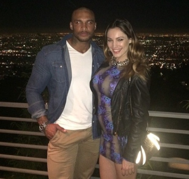 Kelly Brook reportedly splits with David McIntosh - Feb 2014