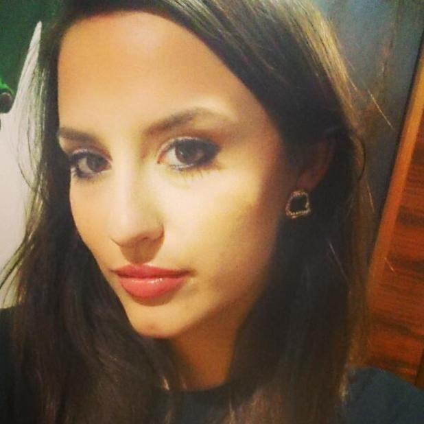 Made In Chelsea star Lucy Watson posts selfie, 22 February 2014