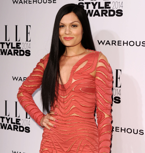 Jessie J, Elle Style Awards, London, Britain - 18 Feb 2014
