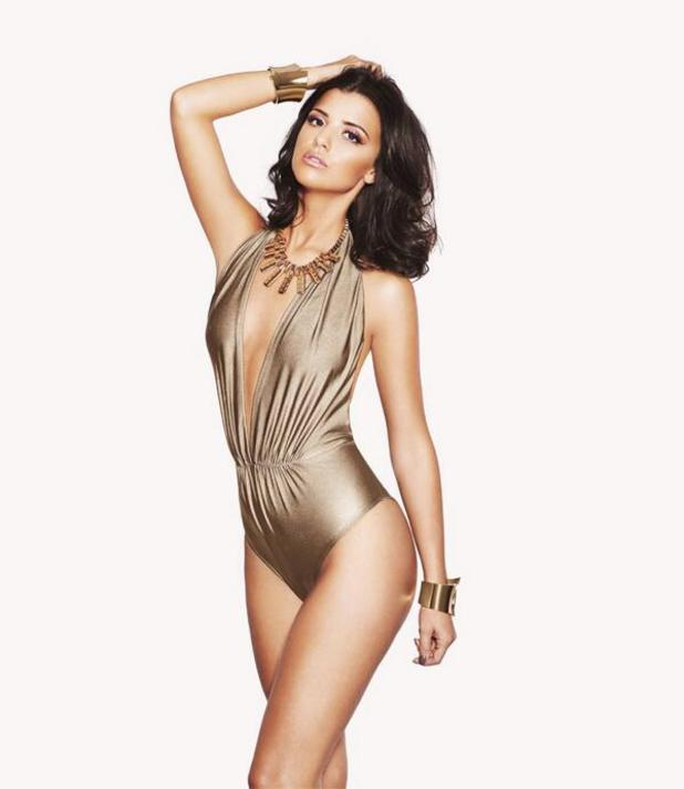Lucy Mecklenburgh models for new Sunkissed tanning product - 18.2.2014