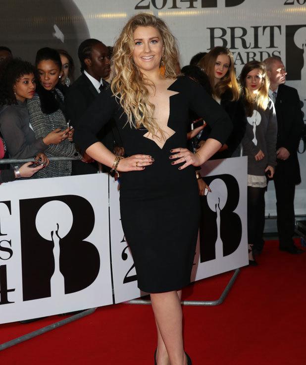 Ella Henderson at the Brit Awards 2014, 19 February 2014