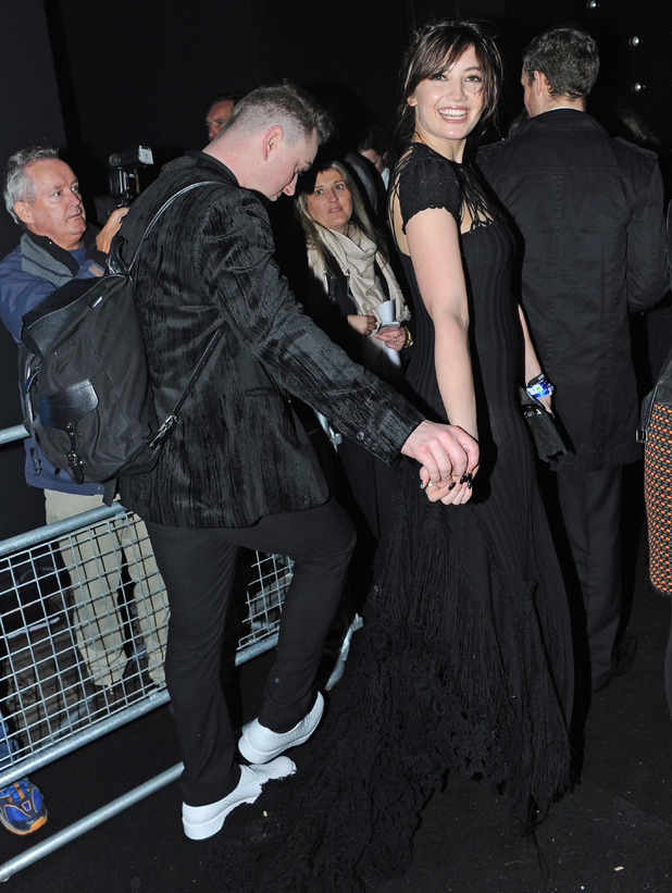 The Brit Awards, O2 Arena, London, Britain - 19 Feb 2014 Daisy Lowe, Sam Smith