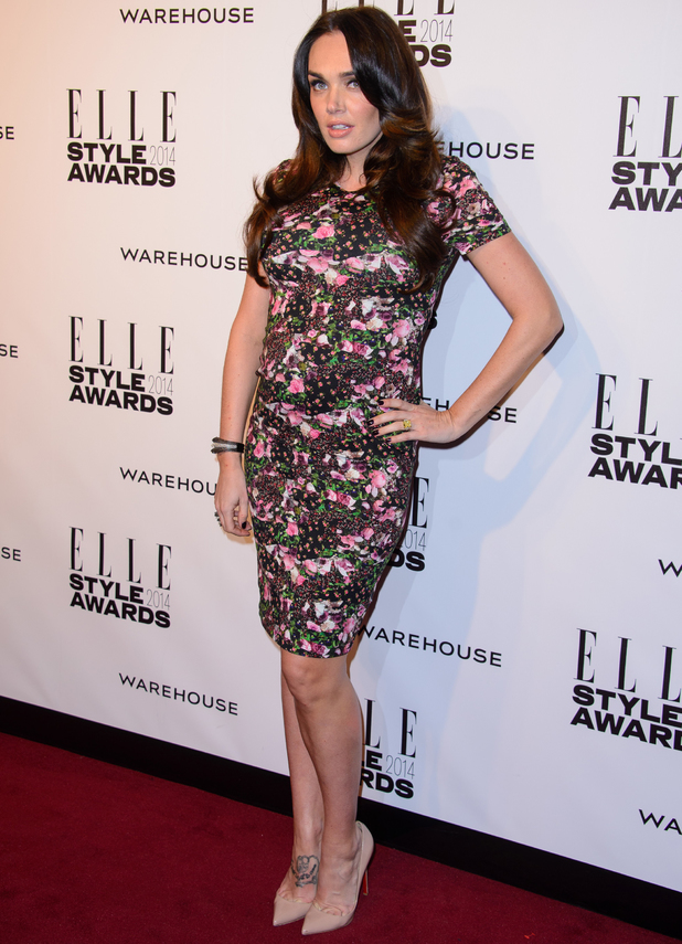 Elle Style Awards, London, Britain - 18 Feb 2014 Tamara Ecclestone