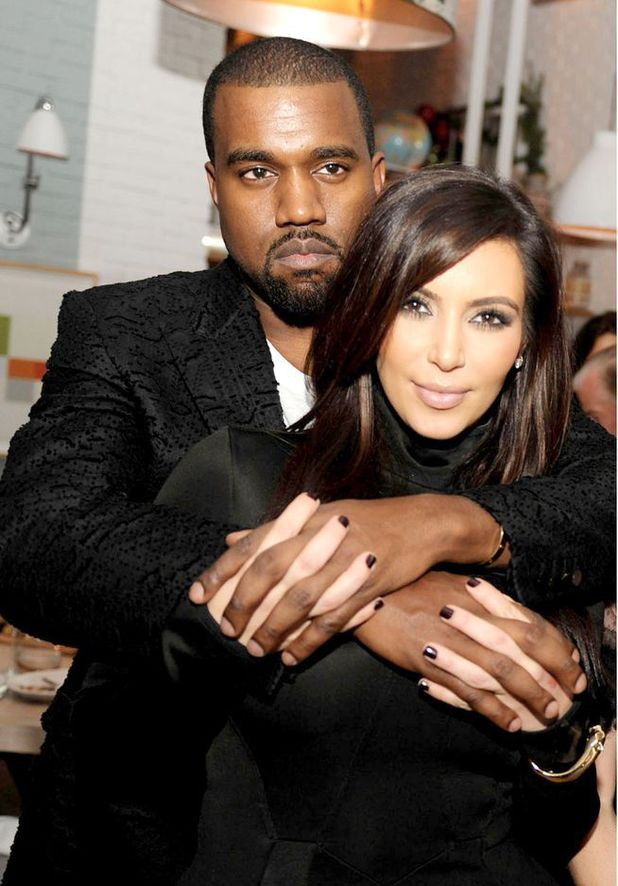 Kanye West and Kim Kardashian - Debate would you let your man choose your wedding dress?