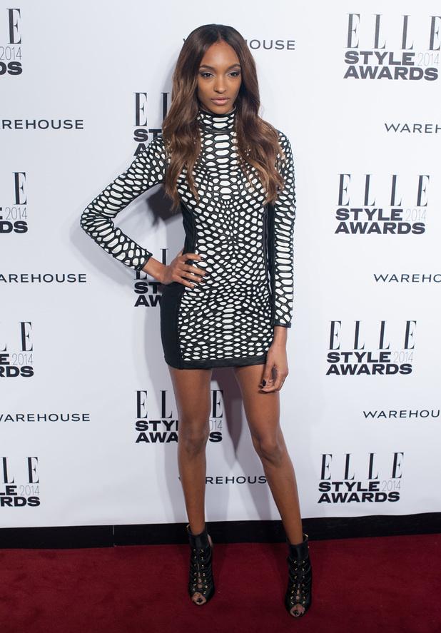 ELLE Style Awards held at One Embankment - London - 18.2.2014 Jourdan Dunn