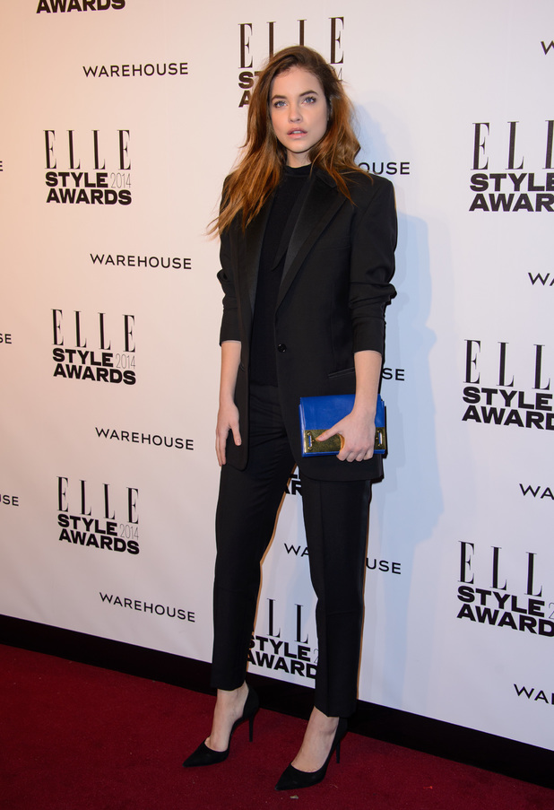 ELLE Style Awards held at One Embankment - London - 18.2.2014 Barbara Palvin