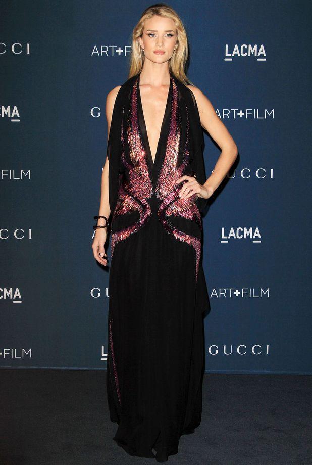Rosie Huntington-Whiteley - LACMA: Art and Film Gala, Los Angeles, America - 2 November 2013