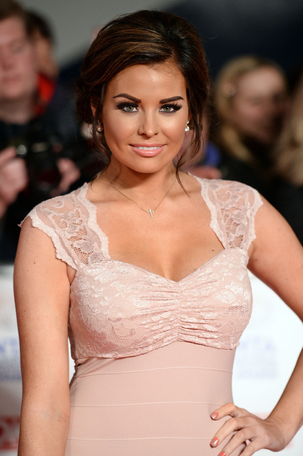 Jessica Wright, National Television Awards, The O2, London, Britain - 22 Jan 2014