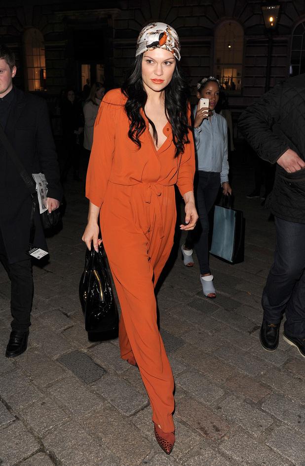 London Fashion Week a/w 2014 - Vivienne Westwood - Jessie J 16.2.2014