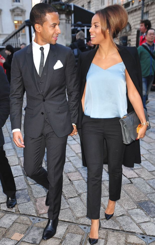 Rochelle and  Marvin Humes at Simon Gao show