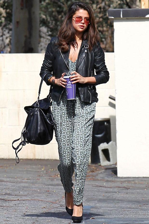 Selena Gomez in LA, 20 February 2014