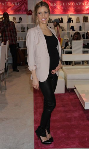 'The Hills' star Kristin Cavallari promotes her shoe collection during MAGIC Market Week held at Las Vegas Convention Center, 18 February 2014