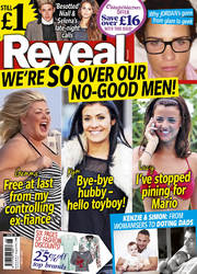 Reveal issue 08 2014 cover. On sale 25 Feb 2014