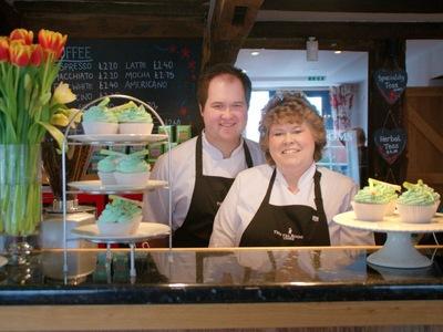Tea Rooms Chirk Leeky cupcakes