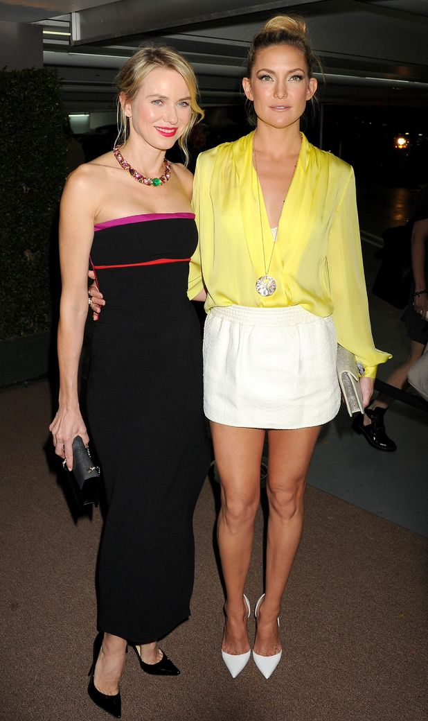 Kate Hudson and Naomi Watts attend the Bulgari Decades of Glamour party in Los Angeles, America - 25 February 2014
