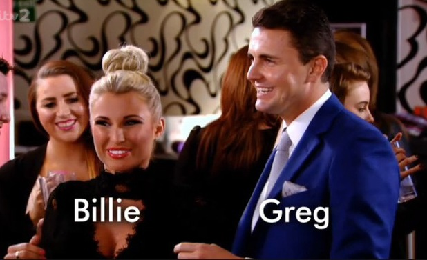 Billie Faiers and Greg Shepherd throw a baby shower in TOWIE - 23 Feb 2014