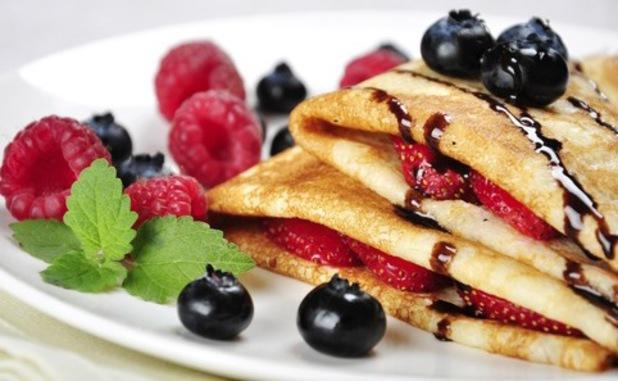 Low calorie pancake