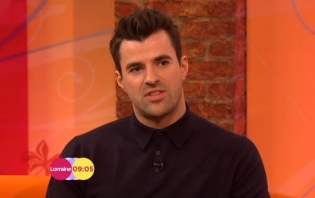 Steve Jones appears on Lorraine - 25 Feb 2014