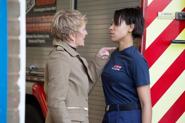 EastEnders, Shirley threatens Tosh, Thu 27 Feb