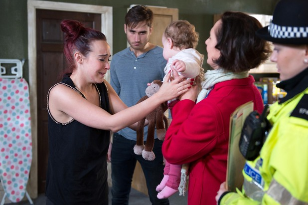 Hollyoaks, Katy taken away, Wed 16 Feb