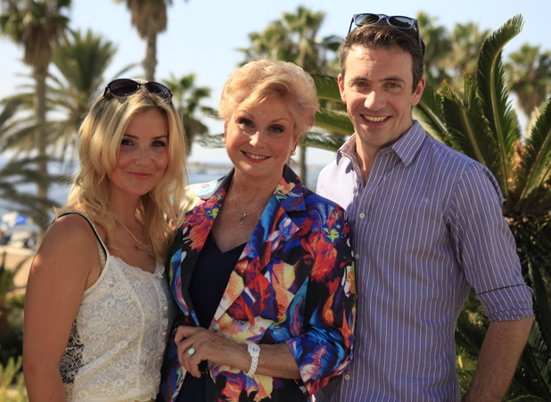 BBC's Holiday Hit Squad with Angela Rippon, Helen Skelton and Joe Crowley.