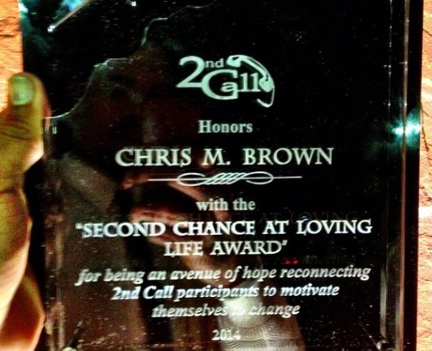 Chris Brown 2nd Call LA awards - February 2014