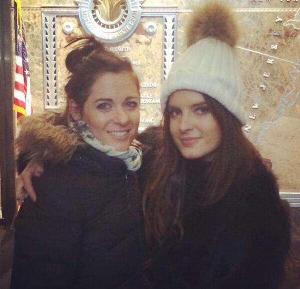 Made In Chelsea's Binky Felstead, mum Jane and sister Anna-Louise visit New York - February 2014