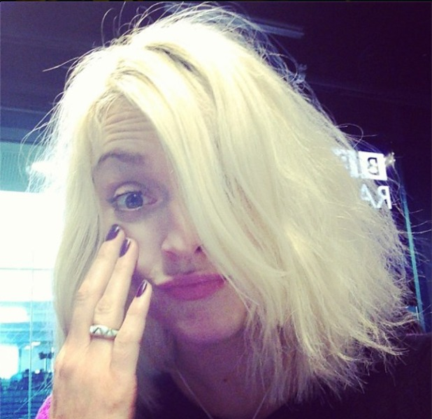 Fearne Cotton shares 'bad hair' snap