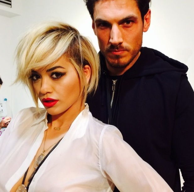 Rita Ora debuts new haircut in Milan at Fashion Week - 23.2.2014