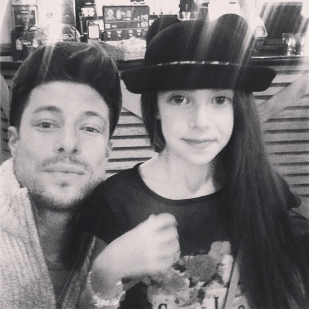 Duncan James marks his daughter Tianie-Finn's birthday with cute picture - 26 Feb 2014