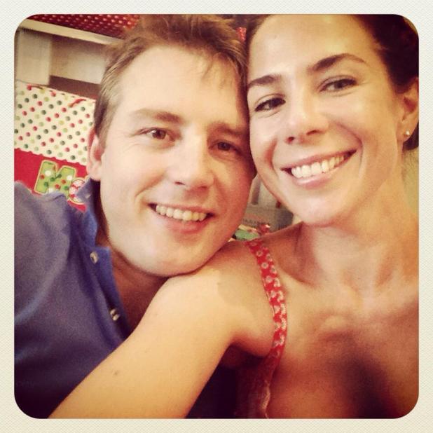 Kate Richie and husband Stuart Webb, 2014