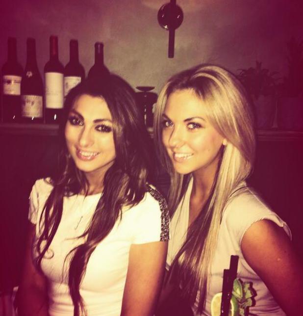 Luisa Zissman partying with friend - 21.2.2014
