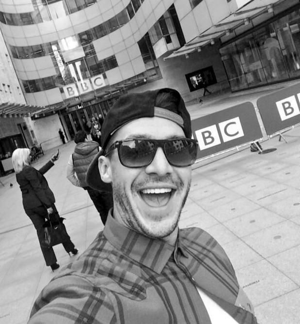 Kirk Norcross visits the BBC studios. (26 February 2014).