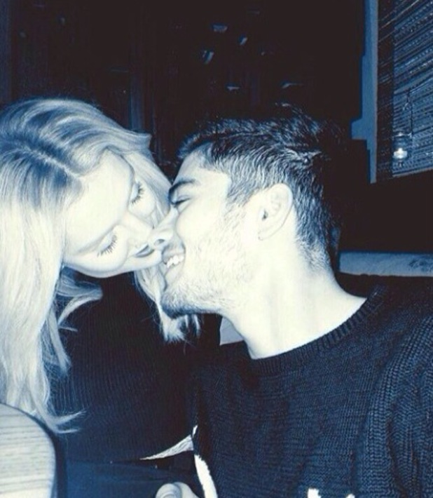 Perrie Edwards, Zayn Malik spend Valentine's Day together- 14.2.2014
