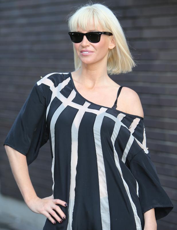 Sarah Harding outside the ITV studios - 26 Feb 2014