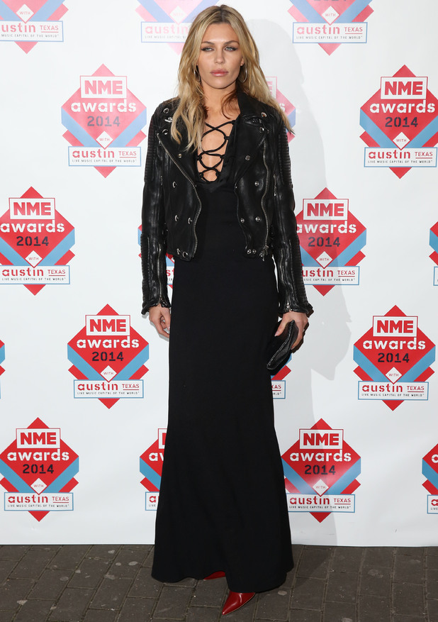 Abbey Clancy at The NME Awards 2014 held at O2 Academy Brixton - Arrivals 02/26/2014