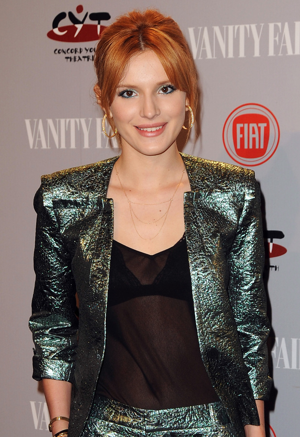 Bella Thorne attends the Vanity Fair Young Hollywood Party in Los Angeles - 25 February 2014