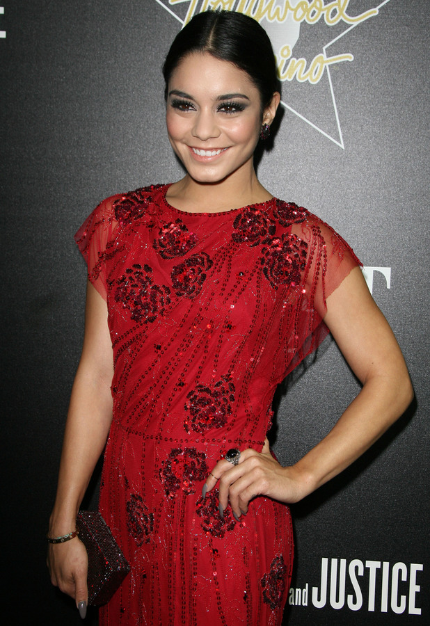 Vanessa Hudgens attends the 7th Annual Hollywood Domino and Bovet Gala in Los Angeles, 27 February 2014