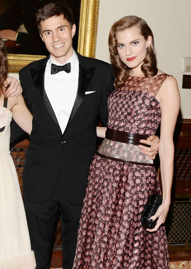 Ricky Van Veen, Allison Williams, The 2013 Library Lions Gala at The New York Public Library, New York, America - 04 Nov 2013