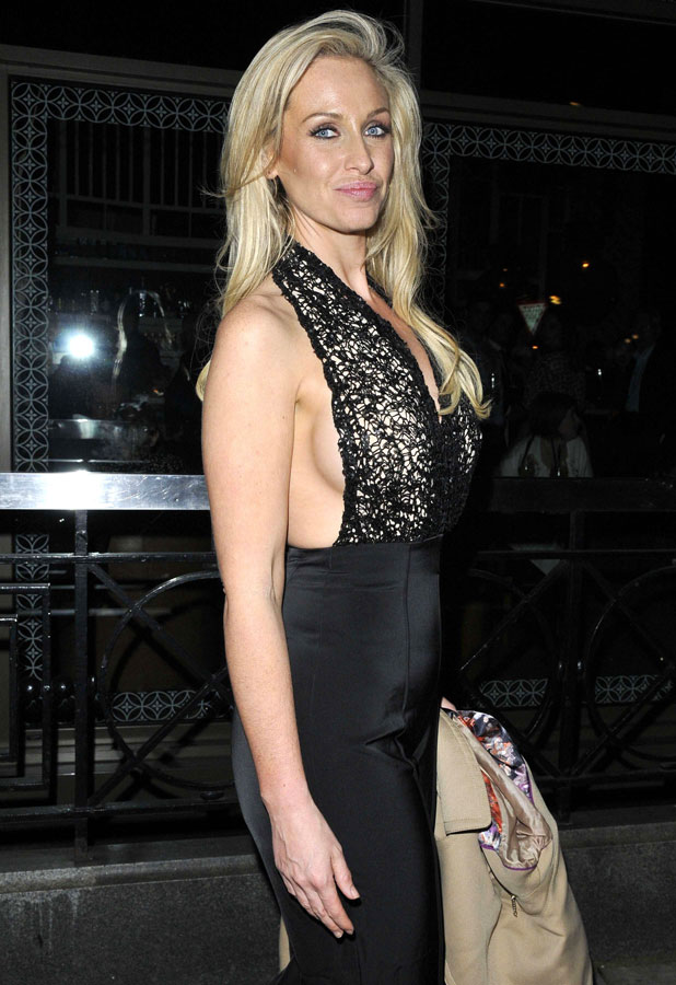 Josie Gibson, Inanch hair extension launch party, London, Britain - 27 Feb 2014
