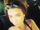 Lauren Goodger shows off tan on last day in Los Angeles