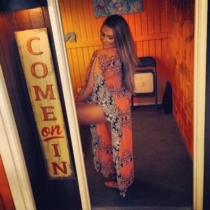 Lauren Goodger shares photos from her holiday in America - March 2014