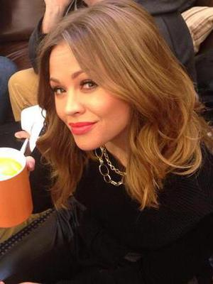 Pregnant Kimberley Walsh helps record Sport Relief World Cup charity single - 5 March 2014