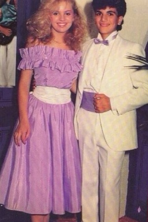 Peter Andre pictured in throwback prom photograph - 7 March 2014