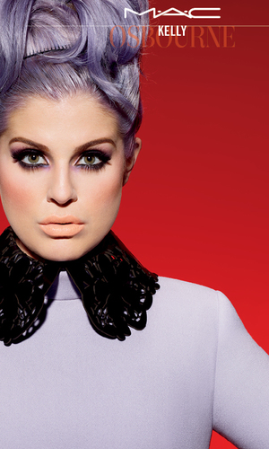 Kelly Osbourne's campaign image for MAC Cosmetics - 2014