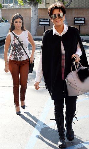 The Kardashians out and about, Los Angeles, America - 04 Mar 2014 Kourtney Kardashian, Kris Jenner