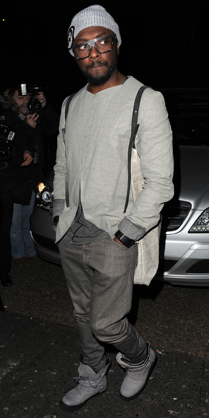 Beyonce and Jay Z party at The Arts Club on their last night in London, 7 March 2014. Will.i.am also there.